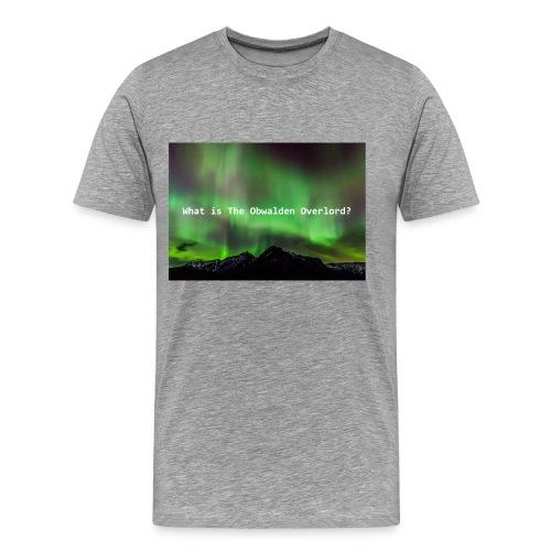 Obwalden Overlord - Men's Premium T-Shirt