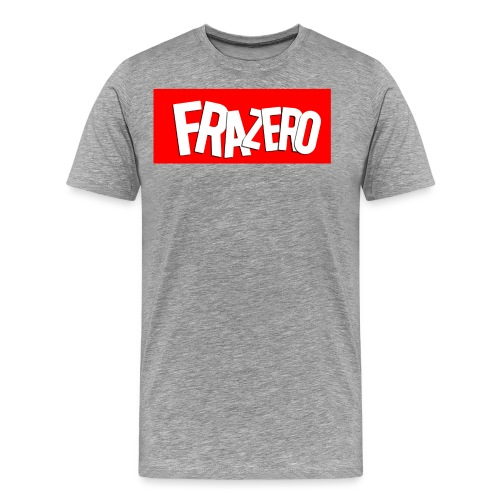 FRAZERO RED BOX DESIGN - Men's Premium T-Shirt