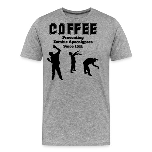 coffee apocalypse - Männer Premium T-Shirt