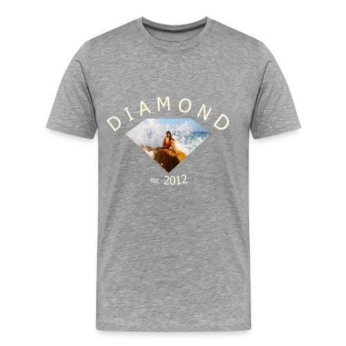 diamondesign1 - Herre premium T-shirt
