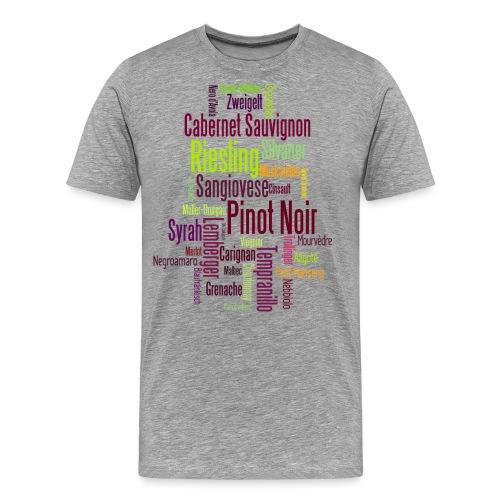 Rebsorten Mixed - Männer Premium T-Shirt