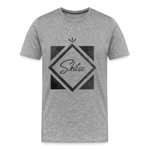 T-shirt Skitse losange - T-shirt Premium Homme