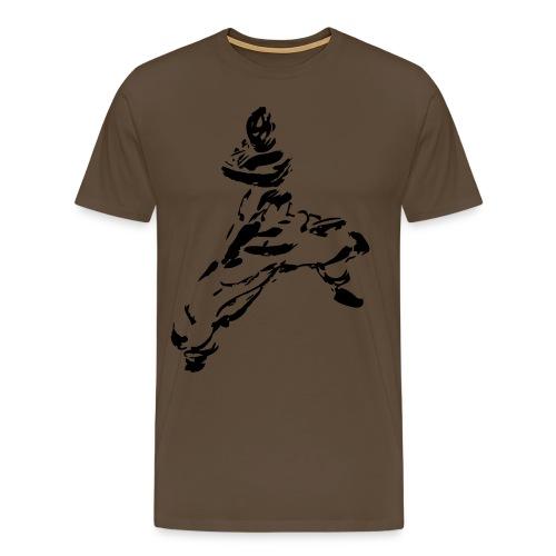kungfu - Men's Premium T-Shirt