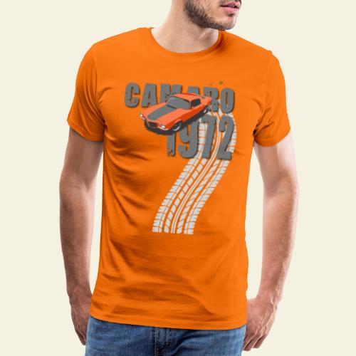 1972 camaro - Herre premium T-shirt