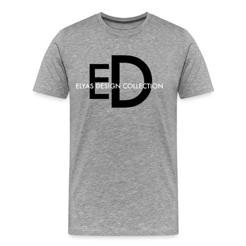 EDC Logo black png - Mannen Premium T-shirt