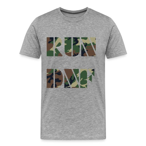 run dnf ass - Männer Premium T-Shirt