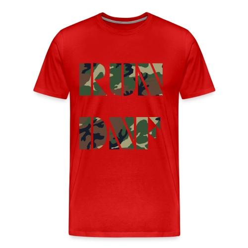run dnf ass - Männer Premium T-Shirt