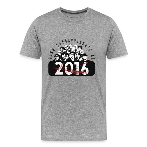 La tshirt del 2016 M - Maglietta Premium da uomo