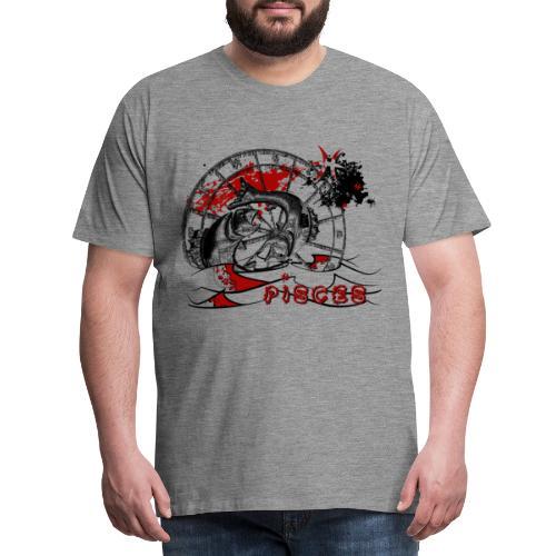 Trash polka Astro Pisces - T-shirt Premium Homme