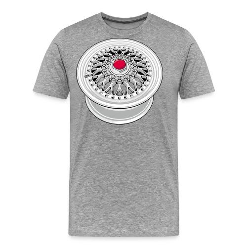 Vintage wheel - T-shirt Premium Homme