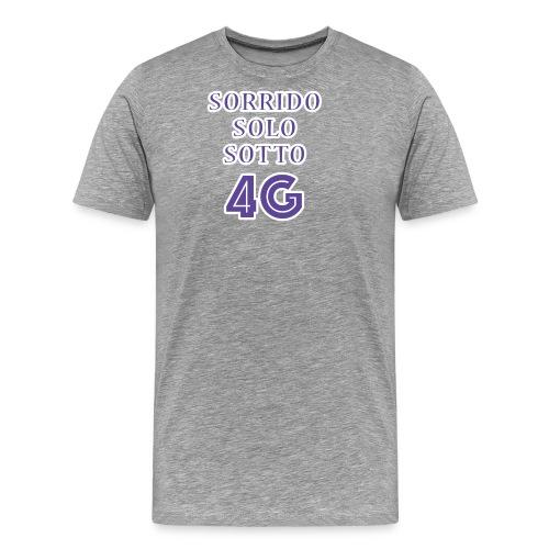Sorrido in 4G - Maglietta Premium da uomo