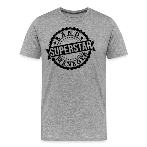 Superstar Band Manager Logo Black - Men's Premium T-Shirt