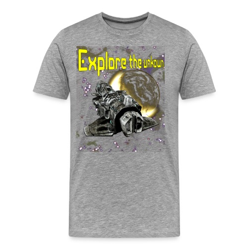 Explore the unknown - Men's Premium T-Shirt