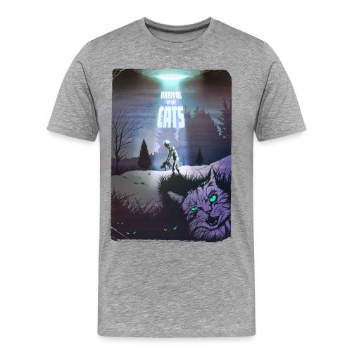 ARRIVAL OF THE CATS - Ankunft der Katzen - Männer Premium T-Shirt