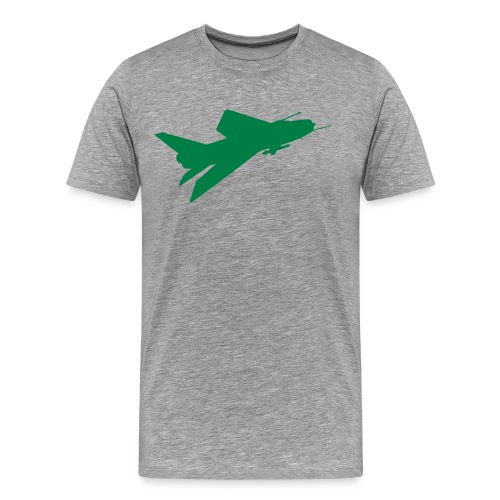 BAC English Electric Lightning Flyby - Men's Premium T-Shirt