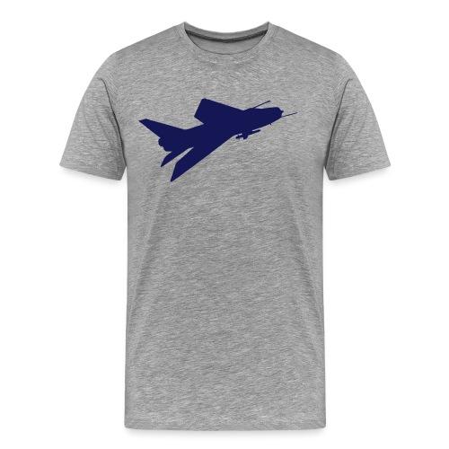 BAC English Electric Lightning Flyby - Men's Premium T-Shirt