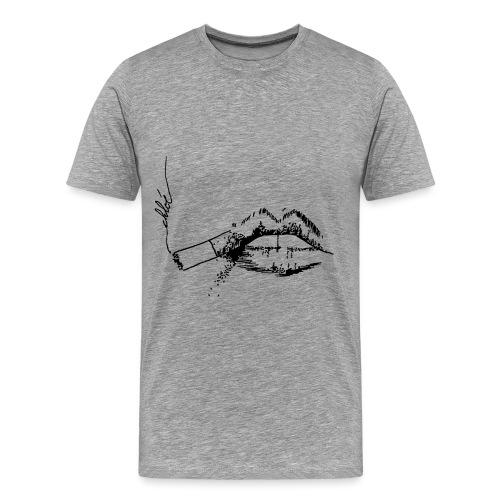 Fumeuse - T-shirt Premium Homme