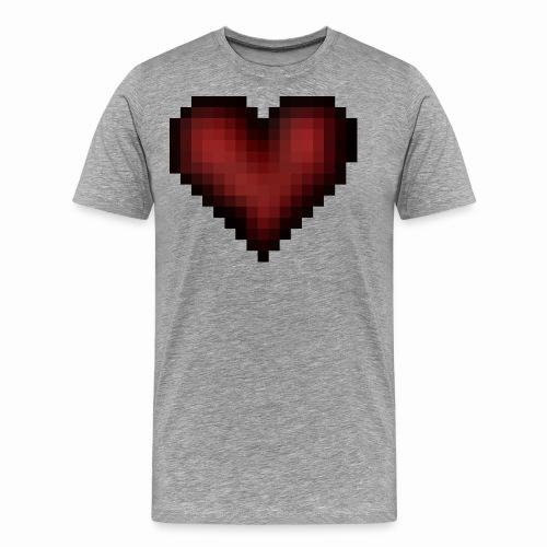 Pixxelheart - Männer Premium T-Shirt