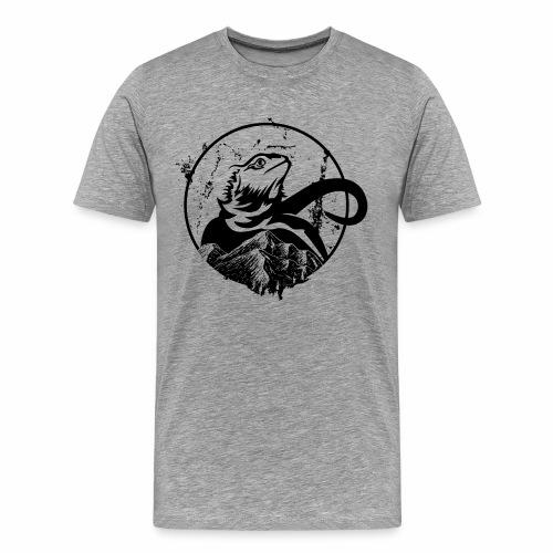 Bearded Dragon - Männer Premium T-Shirt