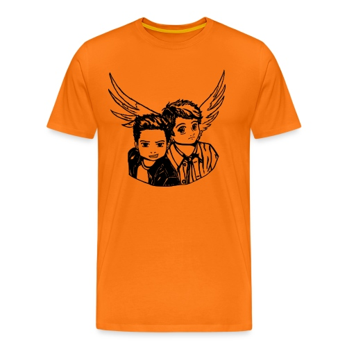 Destiel (Silhuet) - Herre premium T-shirt