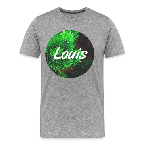 Louis round-logo - Männer Premium T-Shirt