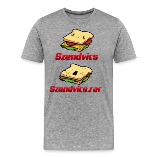 Szendvics - Men's Premium T-Shirt
