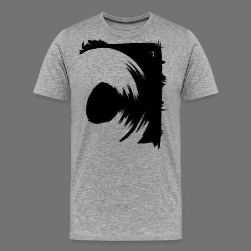 wirowania (czarny) - Koszulka męska Premium
