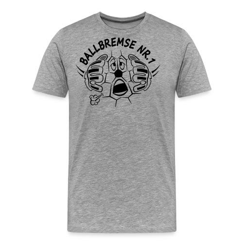 fussiface ballbremse nr 1 m 14 cut - Männer Premium T-Shirt