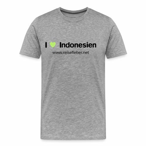 I love Indonesien - Männer Premium T-Shirt