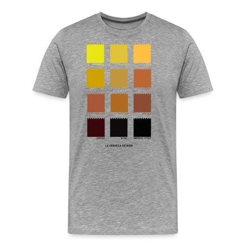 BEER COLOR - Camiseta premium hombre