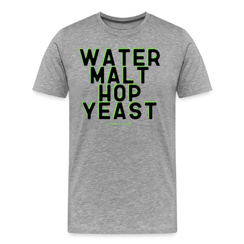 craft beer - Camiseta premium hombre