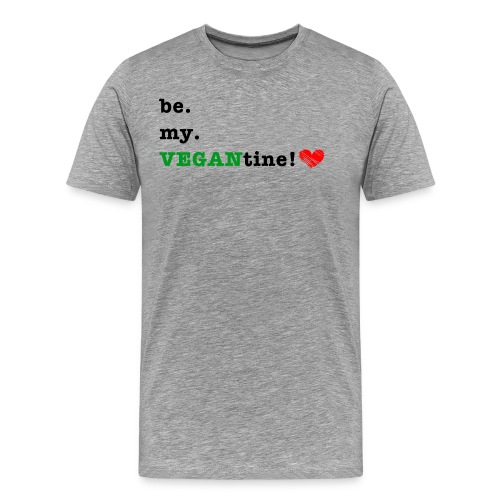 VEGANtine Green - Men's Premium T-Shirt