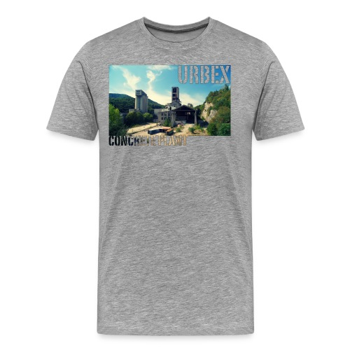 Concrete Wide - Männer Premium T-Shirt