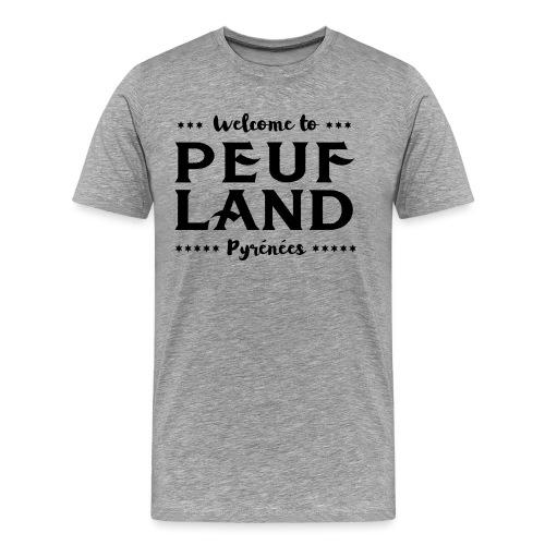 Peuf Land Pyrénées - Black - T-shirt Premium Homme