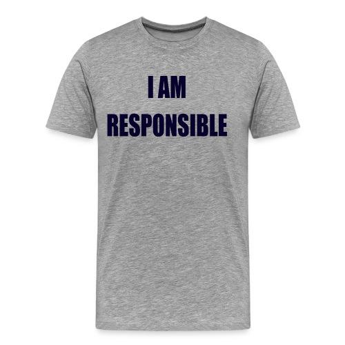 responsible 2 - Premium-T-shirt herr