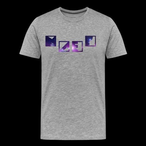 Blue Galaxy - Männer Premium T-Shirt