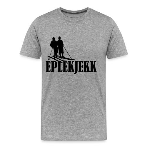 eplekjekk - Premium T-skjorte for menn