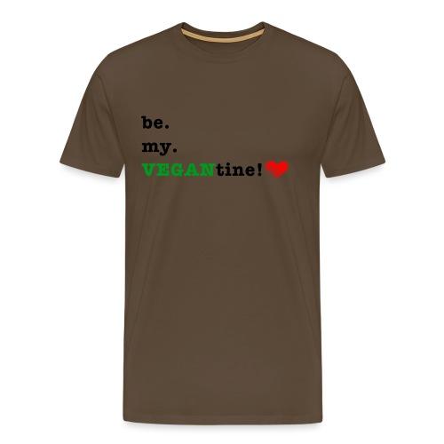 VEGANtine Green - Men's Premium T-Shirt