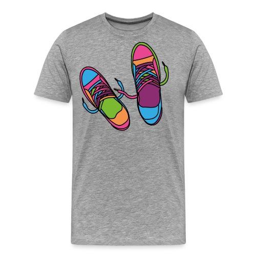 Hipster Schuhe - Männer Premium T-Shirt
