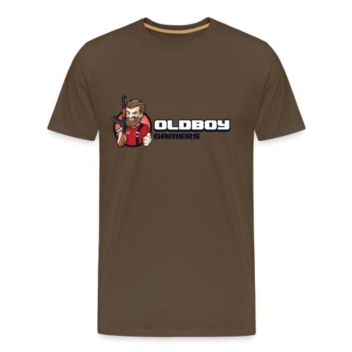 Oldboy Gamers Fanshirt - Premium T-skjorte for menn