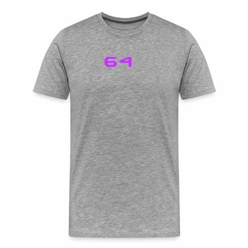 64 LOGO - Men's Premium T-Shirt
