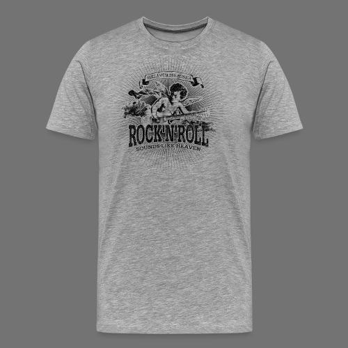 Rock 'n' Roll - Sounds Like Heaven (black) - Männer Premium T-Shirt