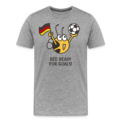 BEE READY FOR GOALS - Männer Premium T-Shirt