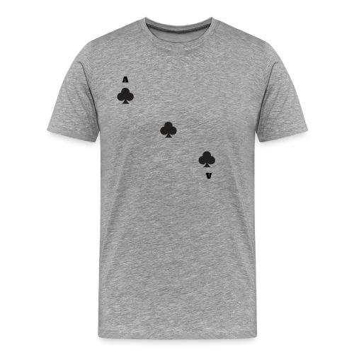 as de trèfle - T-shirt Premium Homme