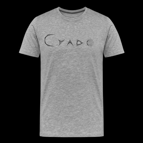 CYADO FAT BLACK - T-shirt Premium Homme