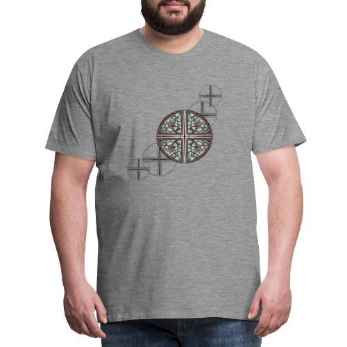 Archangel Michael Swash - Men's Premium T-Shirt