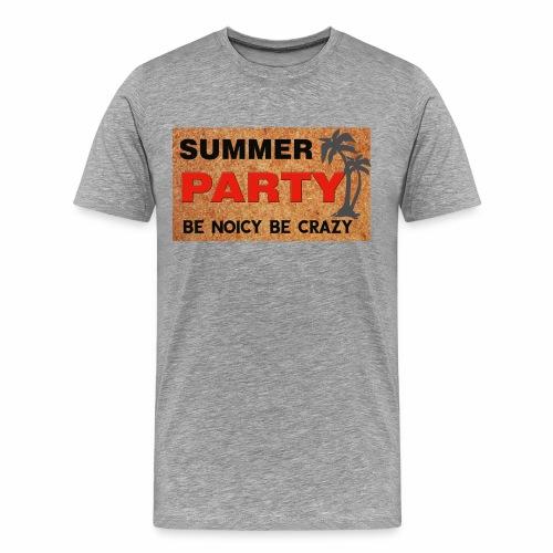 summer party mens - Men's Premium T-Shirt