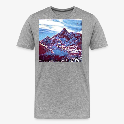 Red Mountain - Maglietta Premium da uomo