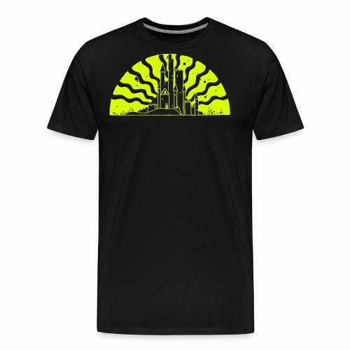 Fairytale Castle Sunrise - Männer Premium T-Shirt