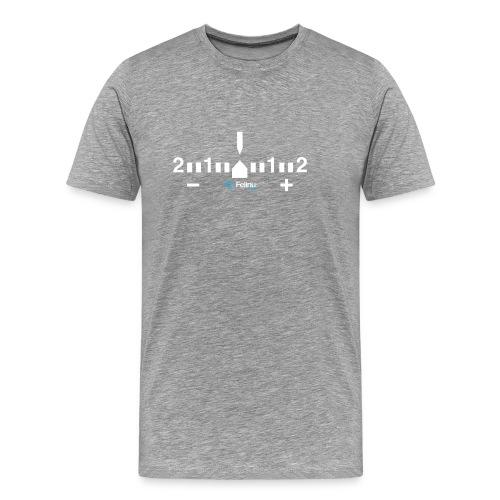 Exposímetro Fotografía - Camiseta premium hombre